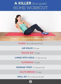 The Quiet Workout: A Killer Home Routine