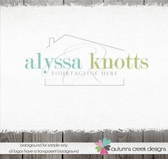 real estate logo  house logo design  house logo by autumnscreek