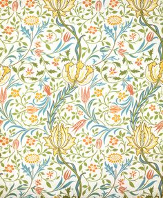 William Morris Flora wallpaper