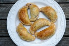 Swiss chard, beet and goat cheese empanadas