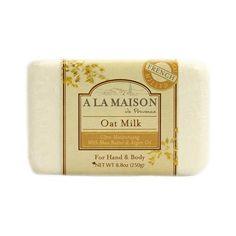A La Maison Bar Soap Oat Milk - 8.8 Oz