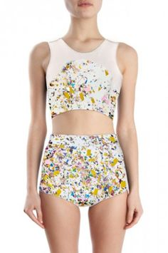 Cynthia Rowley 4 bathing suits for girls who hate to lounge