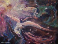 ΓΕΝΕΣΙΣ V, λάδι σε καμβά, 80x60cm, 2010 GENESIS V, oil on canvas, 80x60cm, 2010