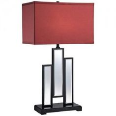 Pantone Marsala Specchio Mirror Table Lamp Design Connection Inc Kansas City Interior Design