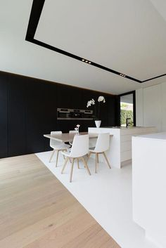 Minimalist Home interior Living Room Small Spaces - Home interior Design Tips - Interior Design Kitchen, Modern Interior Design, Interior Architecture, Interior Decorating, Decorating Games, Decorating Websites, Minimalist Kitchen, Minimalist Decor, Küchen Design