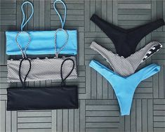 cami bikini top full coverage white and black bikini bandeaus crop bikini tops high leg swimsuits. Hot Sale bikini online