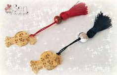 Good Luck, Tassel Necklace, Charms, How To Make, Best Of Luck, Pendants