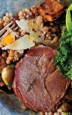 Pork shoulder with ginger and apple cider is one of our best fall braising recipes.