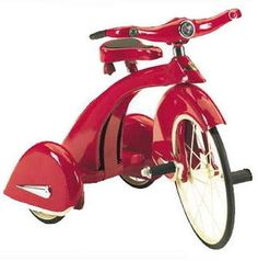 Retro Sky King Vintage Style Tricycle Kids Red Bike bonanza.com (better than ebay)