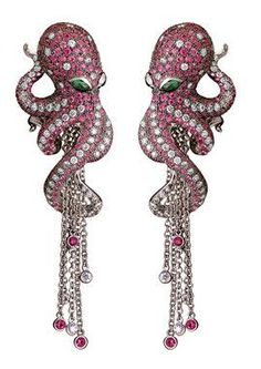 Magerit Octopus Collection Earrings AR1098.11RB