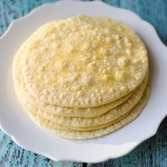 Easy Homemade Corn Tortillas. Fun and easy to make. Great for tortilla chips and nachos. Who knew it was this easy to do at home?!