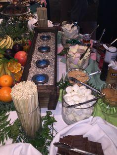#wedding #smores #fruit #buffet #bride #groom #mothers #day Fruit Buffet, Bride Groom, Mothers, Special Occasion, Golf, Club, Table Decorations, Wedding, Valentines Day Weddings