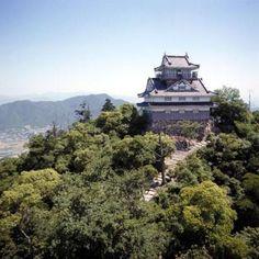 Gifu Castle。岐阜城。岐阜県岐阜市。