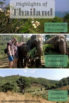 Highlights of Thailand