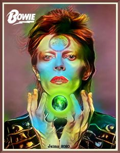 David Bowie, Pop Art, Rock, Star, Fictional Characters, Musica, Art, Stone, Locks
