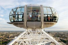 The London Eye view over London