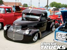 1946 Chevy Truck #CustomGrilles #Rvinyl --------------------------------------------------------------------- http://www.rvinyl.com/Grilles.html