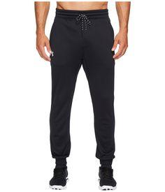 Under Armour UA Storm Icon Jogger Men's Casual Pants Black/White Mens Joggers, Sweatpants, Miss Legs, Current Fashion Trends, Body Heat, Under Armour Men, Legs Day, Black Pants, Mens Fashion