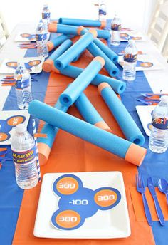 Sweeten Your Day Events: Nerf War Birthday Party