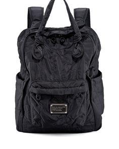 V0WZY MARC by Marc Jacobs Pretty Nylon Backpack, Black