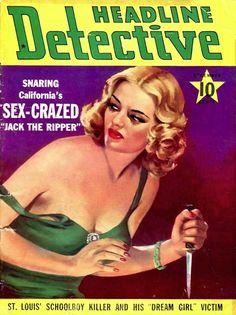 Headline Detective - December 1940