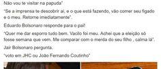 InfoNavWeb                       Informação, Notícias,Videos, Diversão, Games e Tecnologia.  : Fotógrafo que publicou conversa de Bolsonaro é blo...