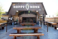 The Hoppy Monk, El Paso, TX - A saloon, bar, tavern or neighborhood inn-call it what you will, The Hoppy Monk is where locals gather for craft beer and made from scratch eats. This unique gathering place is home to a rustic outdoor patio where on any given day locals come together to discuss just about anything.