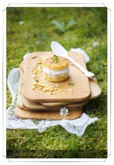 Mi dulce tentación: Mini Pastel de Sobaos con Fruta