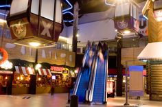 The leisure and retail complex in use at Xscape Braehead.