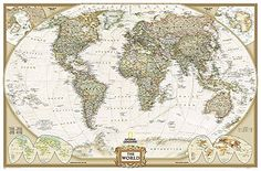 Package Quantity: 1( quality that is*)ExcellentGreat Gift Idea.Satisfaction Ensured.Produced with the grade materials that are highest Brand: Author: Cost: (at the time of – Details) The post Nationwide Geographic: World Executive Enlarged Wall Map (73 x 48 ins… appeared first on BookCheapTravels.com.