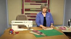 Quilting Quickly: Canal Street - Throw Quilt Pattern