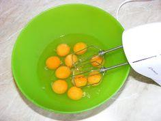 Retete cu oua Caramel, Eggs, Breakfast, Salt Water Taffy, Morning Coffee, Toffee, Egg, Morning Breakfast, Fudge