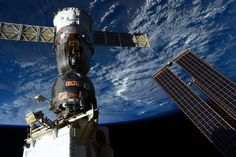 Since docking with the International Space Station on 24 November 2014, Soyuz TMA-15M has been waiting for its return flight to Earth. On Thursday, ESA astronaut Samantha Cristoforetti, NASA astronaut Terry Virts and cosmonaut commander Anton Shkaplerov will enter the spacecraft and close the hatch after 200 days in space.