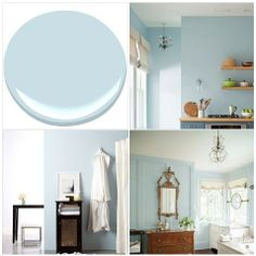 Benjamin Moore's Color of the Year - Breath of Fresh Air 806