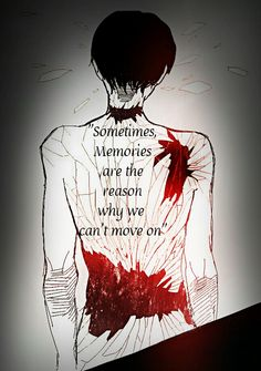 """Sometimes, Memories are the reason why we can't move on."" - Rivaille"