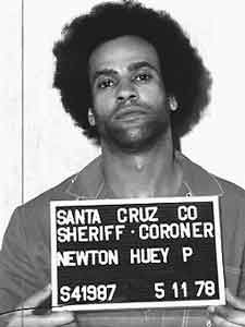 """""""Huey P. Newton, co-founder and minister of defense of the Black Panther Party"""