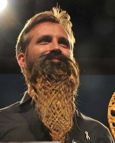 "a list of the 32 most epic beards of all time (this one is the ""basket-weave beard,"" but i'm also quite partial to the ""cat beard"")."