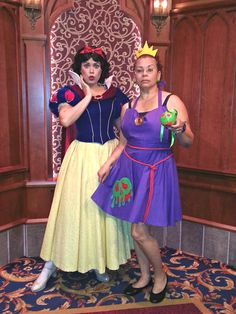 Poison apple deary? Snow White was surprised when I offered her my wicked delight in my poison apple dress! Ah HA HA HA HA!!!!