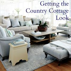 Top Ideas for creating a modern country cottage interior