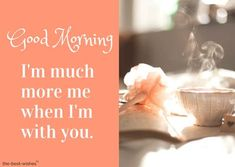 This is the best collection of Good Morning images filled with love to wish your loved ones. Good Morning Wife, Good Morning Romantic, Morning Wish, Good Morning Images, Good Morning Quotes, Cute Messages For Him, Girlfriend Quotes, Heart Melting, Love Images