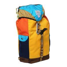 Climb Pack - Turquoise/ Saffron