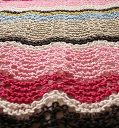 Ripple Stitch by sweet.dreams RAVELRY