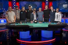 Final table set for World Series of Poker event in Las Vegas