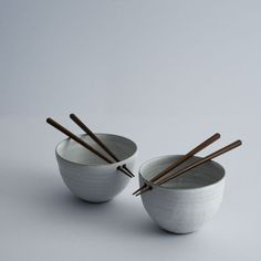 """adayinthelandofnobody:  Rice bowls by Maud and Mabel Follow""""aday in the land of nobody""""on tumblr Pinterest  Society6 Twitter   Designspiration"""