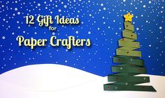 12 Gift Ideas for Paper Crafters - As a person gift shopping for a crafter, it can be a challenge to pick out something that they don't have already. After all, no one really knows what's hidden in a person's craft stash. Heck, most crafters don't even know what's in their own stash!
