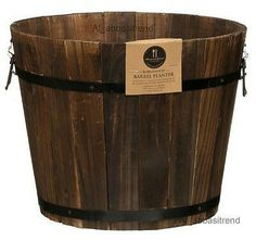 Asda composter 220l price for the house for Wooden barrel planter ideas