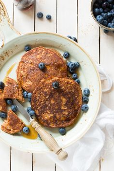 carrot buckwheat pancakes with hazelnut flour
