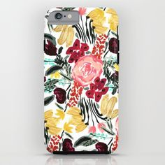 Buy Wild Garden II iPhone & iPod Case by Bouffants and Broken Hearts. Worldwide shipping available at Society6.com. Just one of millions of high quality products available.