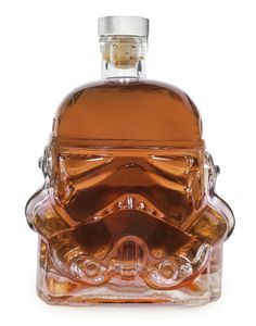 Storm Trooper Whiskey Decanter Based On The Original Helmet Molds Created In 1976