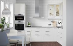- IKEA kitchen but with different handles and worktop